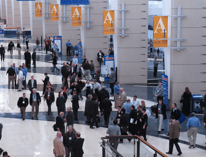 Photo of convention at Chicago's convention center